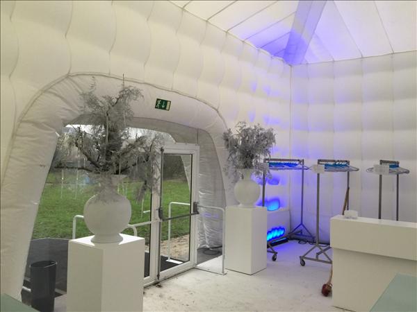 10m Cube - Opblaasbare Evenement Tent