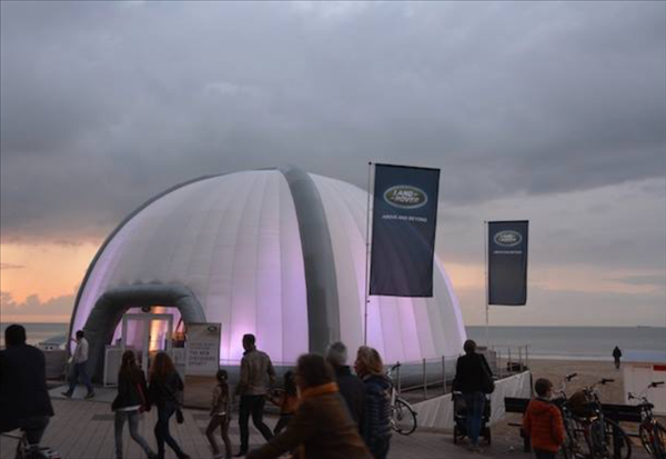 14m Dome - Opblaasbare Event Structuur