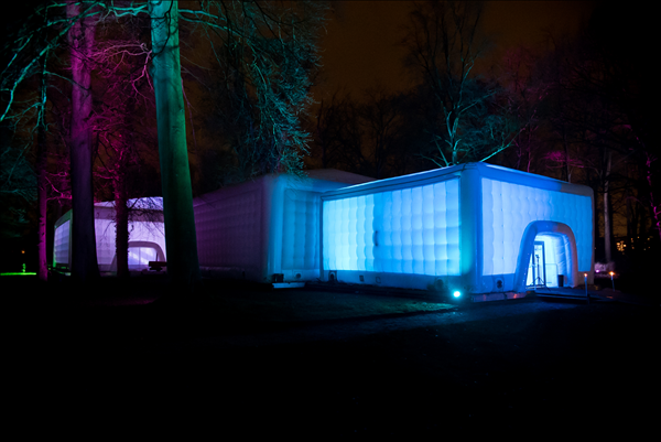 20m Cube - Opblaasbare Evenement Tent