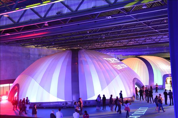 20m opblaasbare evenement tent