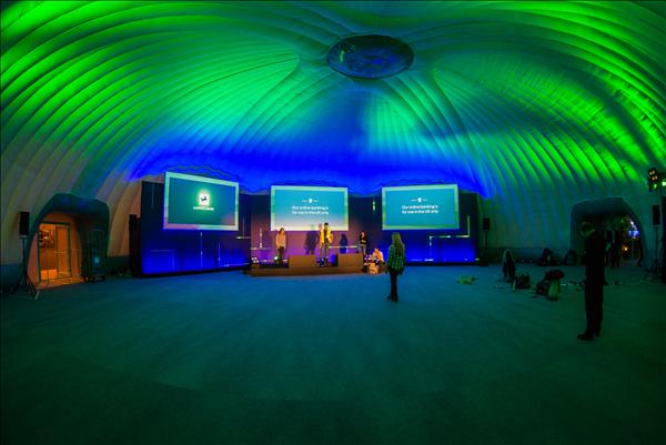 24m Dome - Tijdelijke Evenement Tent